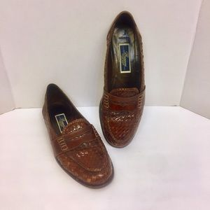 🇮🇹 Bragano Cole Haan Woven Loafers